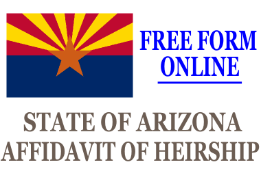 Affidavit of Heirship Arizona