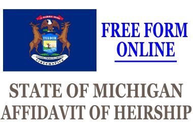 Affidavit of Heirship Michigan