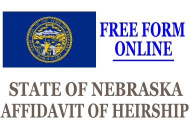 Affidavit of Heirship Nebraska