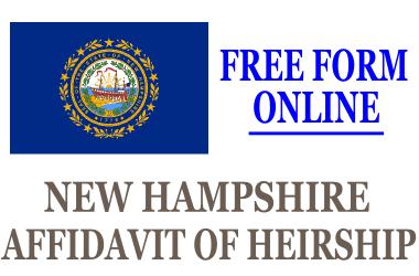 Affidavit of Heirship New Hampshire