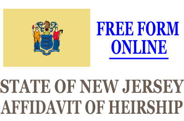 Affidavit of Heirship New Jersey