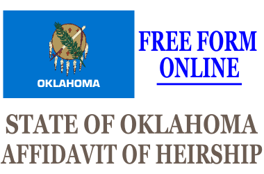 Affidavit of Heirship Oklahoma