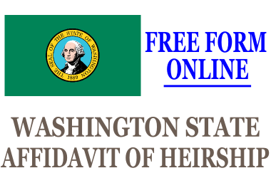 Affidavit of Heirship Washington State