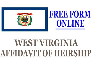 Affidavit of Heirship West Virginia