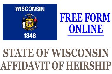 Affidavit of Heirship Wisconsin