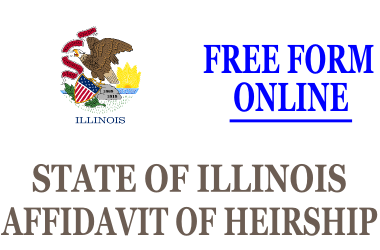 Affidavit of Heirship Illinois