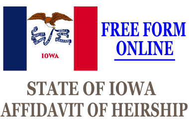 Affidavit of Heirship Iowa