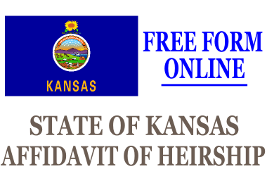 Affidavit of Heirship Kansas