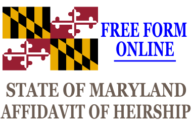 Affidavit of Heirship Maryland