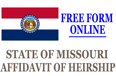 Affidavit of Heirship Missouri