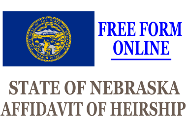 Affidavit of Heirship Nebraska