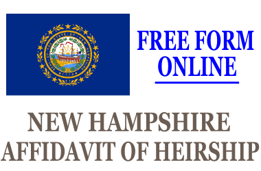 Affidavit of Heirship New Hampshire