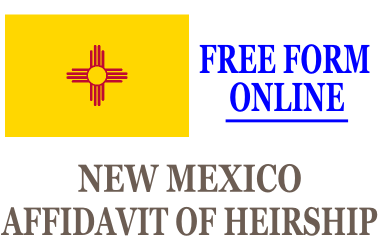 Affidavit of Heirship New Mexico