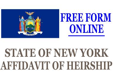Affidavit of Heirship New York