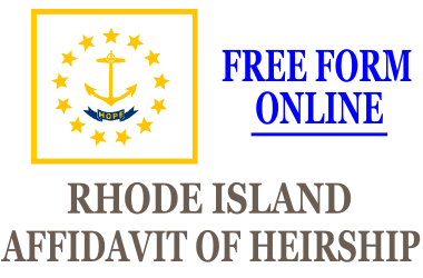 Affidavit of Heirship Rhode Island
