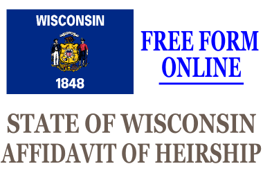 Affidavit of Heirship Wisconsin