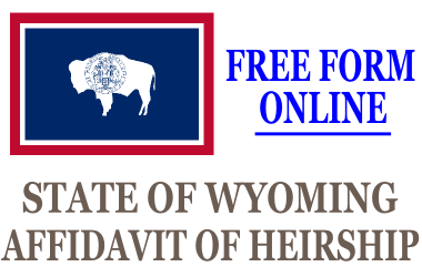 Affidavit of Heirship Wyoming